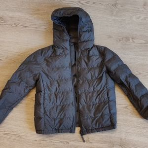 UNICLO kids feather jacket, grey, 8-9 years ✳️✳️✳️